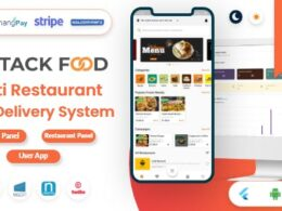 Codecanyon – StackFood Multi Restaurant – Food Delivery App with Laravel Admin and Restaurant Panel v3.1 Delivery App Nulled