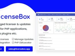 Codecanyon LicenseBox – PHP Licenser and Updates Manager v1.5.2 Nulled