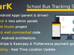 Codecanyon SBurK School Bus Tracker Two Android Apps Backend Admin panels SaaS v2.4