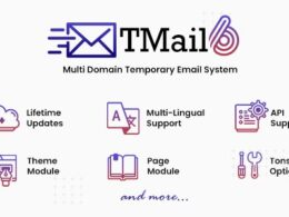 Codecanyon TMail Multi Domain Temporary Email System v6.6.1 Nulled