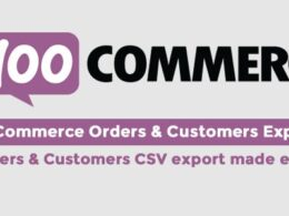 Codecanyon WooCommerce Orders Customers Exporter v4.6 Nulled