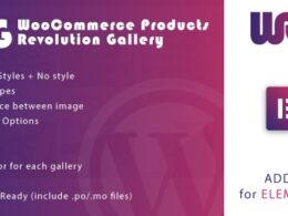 Codecanyon Woocommerce Products Revolution Gallery for Elementor WordPress Plugin v1.0