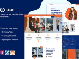 Coworking Creative Space Elementor Template Kit