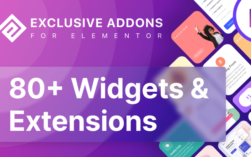Exclusive Addons For Elementor v1.3.2 Nulled