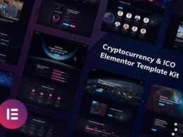 Hoverex Cryptocurrency ICO Elementor Template Kit