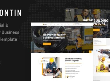 Kontin Industrial Factory Business HTML Template v1.0