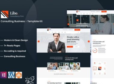 Libo Consulting Business Elementor Template Kit