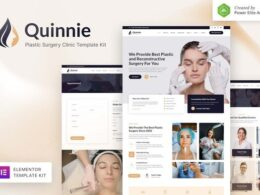 Quinnie – Plastic Surgery Clinic Elementor Template Kit