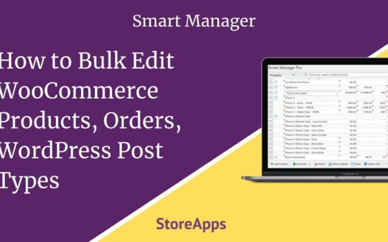 StoreApps Smart Manager – Manage Your WooCommerce Store 10x Faster v5.26.0 Nulled