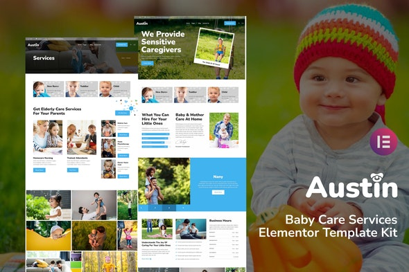 Austin Baby Care Services Elementor Template Kit