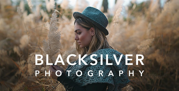 Blacksilver Photography Theme for WordPress v8.7.5 Nulled