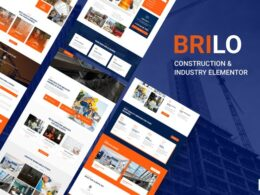 Brilo Construction Industry Elementor Template Kit