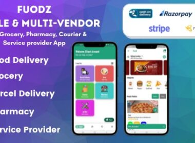 Codecanyon – Fuodz – Grocery Food Pharmacy Courier Service Provider Backend Driver Vendor app v1.3.8