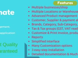 Codecanyon – Ultimate POS v4.6 – Best ERP Stock Management Point of Sale Invoicing application