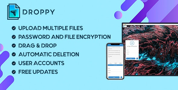 Codecanyon Droppy Online file transfer and sharing v2.3.7
