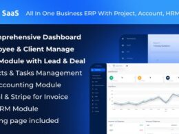 Codecanyon ERPGo SaaS All In One Business ERP With Project Account HRM CRM v1.5