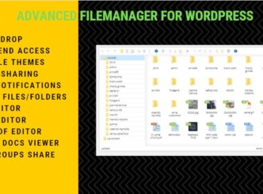 Codecanyon File Manager Plugin For WordPress v7.5.6 Nulled