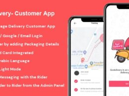 Codecanyon GoDelivery Delivery Software for Managing Your Local Deliveries Customer App v1.0.3