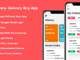 Codecanyon GoDelivery Delivery Software for Managing Your Local Deliveries DeliveryBoy App v1.0.3