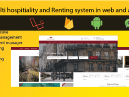 Codecanyon Hospitality renting website and android app airbnb oyo clone v1.0.0
