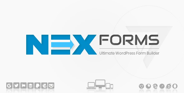 Codecanyon NEX Forms The Ultimate WordPress Form Builder v7.9.4 Addons
