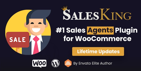 Codecanyon SalesKing Ultimate Sales Team Agents Reps Plugin for WooCommerce v1.1.3