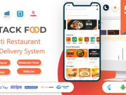 Codecanyon StackFood Multi Restaurant Food Delivery App with Laravel Admin and Restaurant Panel v4.0