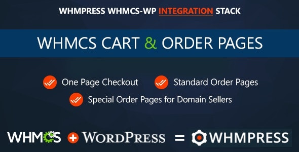 Codecanyon WHMCS Cart Order Pages One Page Checkout v3.8 Rev 7