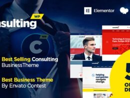 Consulting – Business Finance WordPress Theme v6.2.1