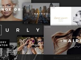 Curly A Stylish Theme for Hairdressers and Hair Salons v2.6 Nulled