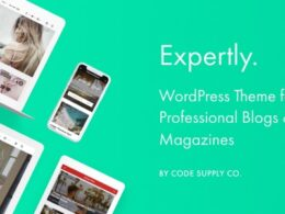 Expertly WordPress Blog Magazine Theme for Professionals 1 October 21