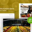 Giop Organic Food Fruit Vegetables eCommerce Shopify Theme v1.0