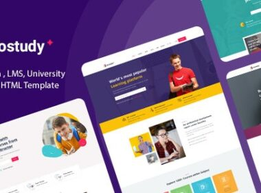 Gostudy – Education HTML Template