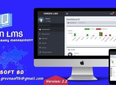 Green LMS The Library Management System Nulled