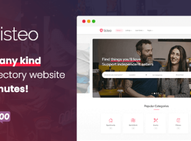 Listeo Directory Listings With Booking WordPress Theme v1.7.03 Nulled