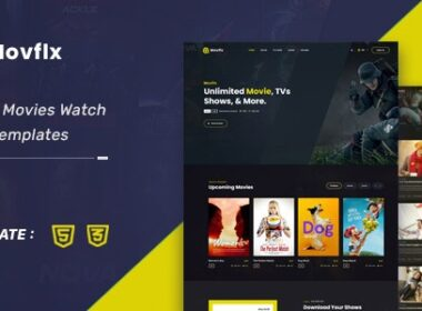 Movflx Video Production and Movie HTML5 Template 13 October 21