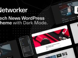 Networker Tech News WordPress Theme with Dark Mode v1.1.2 Nulled