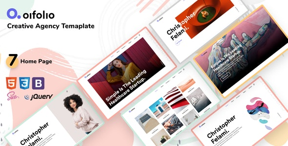 Oifolio Creative Agency Bootstrap Template v1.0