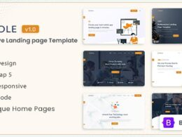 Reole Responsive Landing Page Template v1.0