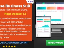 Rose Business Suite Accounting CRM and POS Software v7.0 b 101 Nulled
