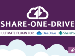 Share one Drive OneDrive plugin for WordPress v1.15 Nulled