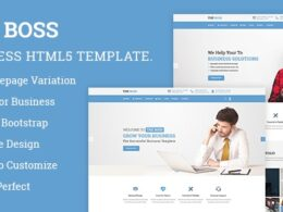 The Boss Corporate Business HTML Template v2.0.1
