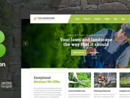 The Landscaper Lawn Landscaping WP Theme v3.0.1 Nulled