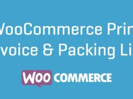 WooCommerce Print Invoices Packing lists v3.11.4